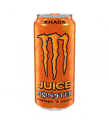 Clearance Special - Monster Energy Juice - Khaos - 16fl.oz (473ml) **Slight Damage** Clearance Zone