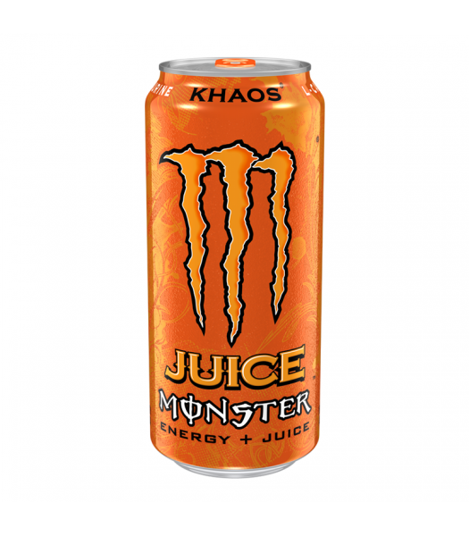 Monster Energy Juice - Khaos - 16fl.oz (473ml) Soda and Drinks Monster