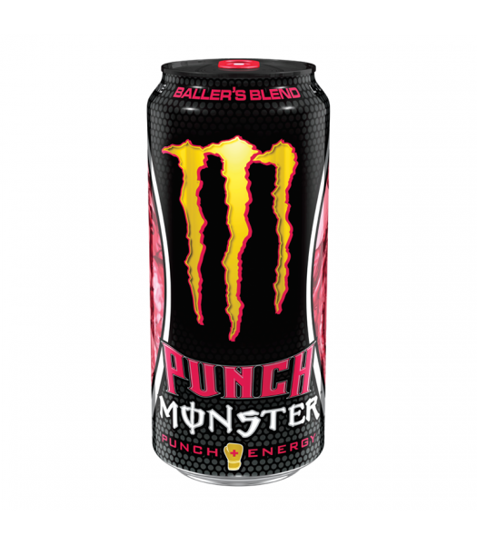 Monster DUB Edition Ballers Blend - 16oz (473ml) Soda and Drinks Monster