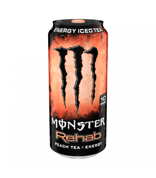Monster Energy Rehab Peach 15.5fl.oz