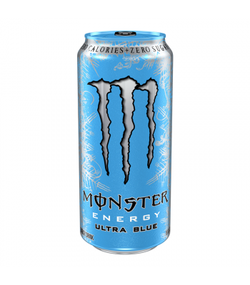 Monster Ultra Zero Blue 16fl.oz (473ml) Energy & Sports Drinks Monster