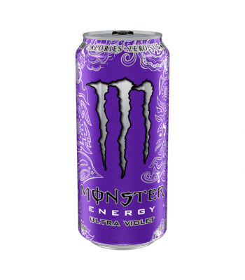 Monster Ultra Zero Violet 16oz (473ml) Energy & Sports Drinks Monster
