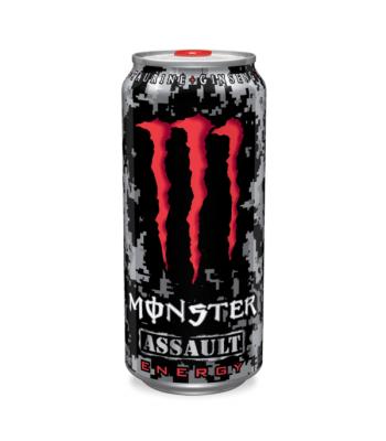 Monster Assault (U.S) 473ml can Energy & Sports Drinks Monster