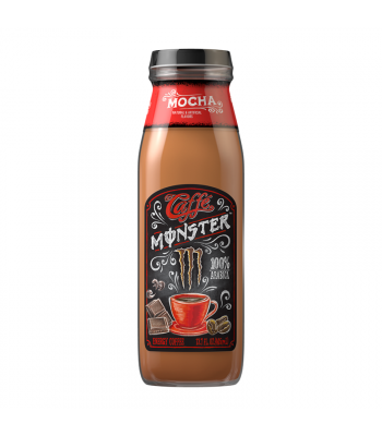 Monster Caffé Mocha - 13.7fl.oz (405ml) Soda and Drinks Monster