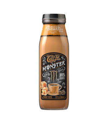 Monster Caffé Salted Caramel - 13.7fl.oz (405ml) Soda and Drinks Monster