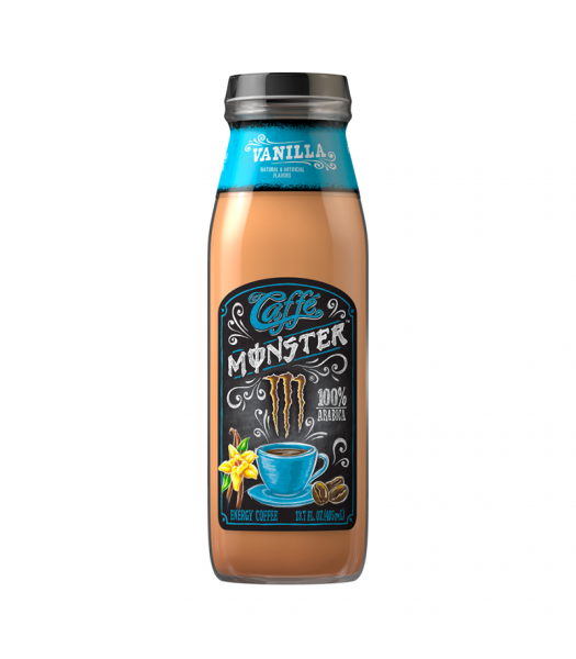 Monster Caffé Vanilla - 13.7fl.oz (405ml) Soda and Drinks Monster