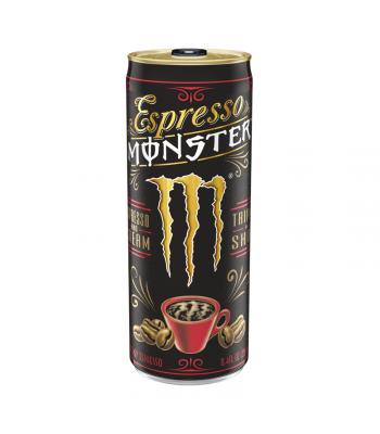 Monster Espresso & Cream - 8.4fl.oz (248ml) Soda and Drinks Monster