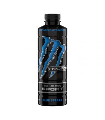 Monster Hydro Super Sport Blue Streak 25.4oz (750ml) Soda and Drinks Monster