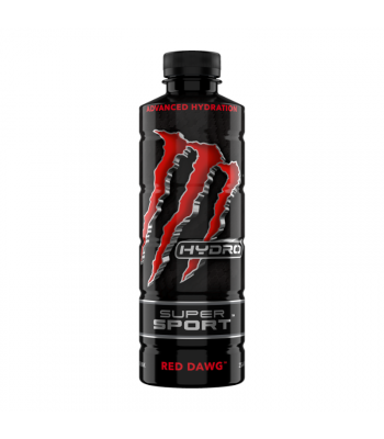 Monster Hydro Super Sport Red Dawg 25.4oz (750ml) Soda and Drinks Monster