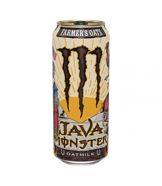 Monster Java Oatmilk Farmer's Oats - 15fl.oz (443ml) Soda and Drinks Monster