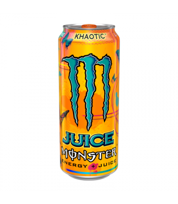 MONSTER JUICE Khaotic - 16oz (473ml) Soda and Drinks Monster