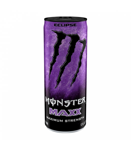 Monster Energy MAXX Eclipse Extra Strength - 12fl.oz (355ml) Soda and Drinks Monster
