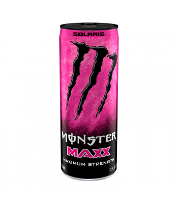 Monster Energy MAXX Solaris Extra Strength - 12fl.oz (355ml) Soda and Drinks Monster