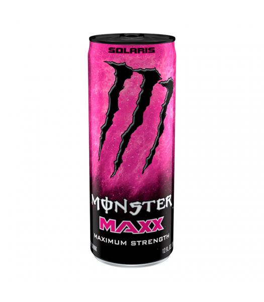 Monster Energy MAXX Solaris Extra Strength - 12fl.oz (355ml) Soda and Drinks Monster