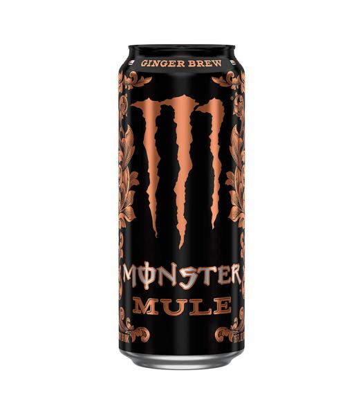 Monster Mule Ginger Brew - 16fl.oz (473ml) Soda and Drinks Monster