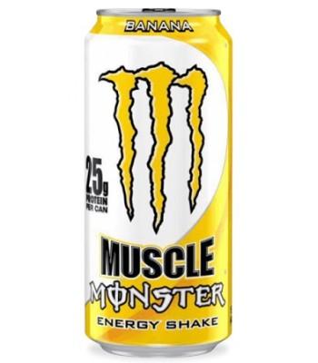 Monster Muscle Monster Banana 473ml  Energy & Sports Drinks Monster