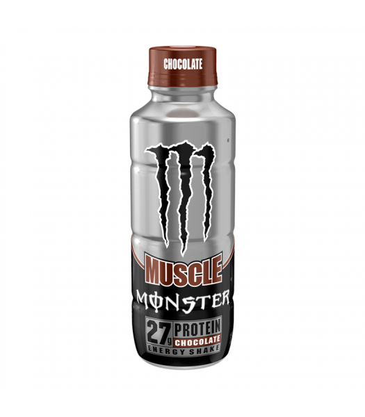 Monster Muscle Chocolate - 15fl.oz (443ml) Soda and Drinks Monster