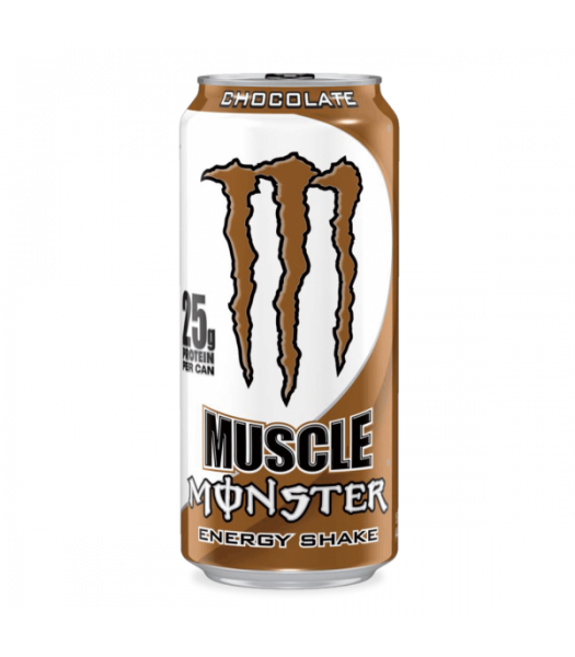 Monster Muscle Monster Chocolate 473ml  Energy & Sports Drinks Monster