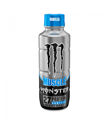 Monster Muscle Vanilla - 15fl.oz (443ml) Soda and Drinks Monster