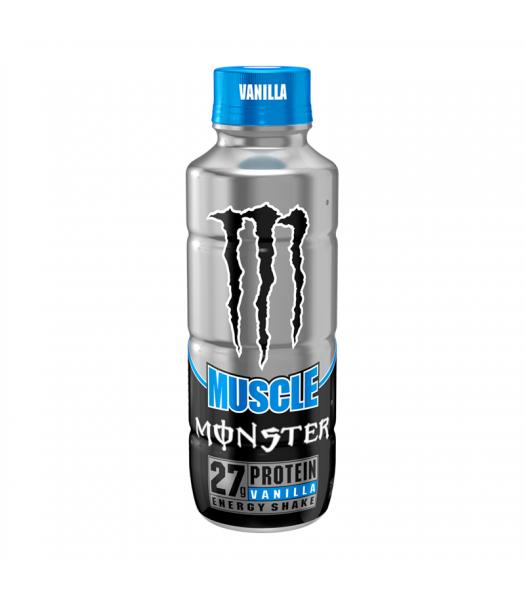 Monster Muscle Vanilla - 15fl.oz (443ml) Soda and Drinks Monster