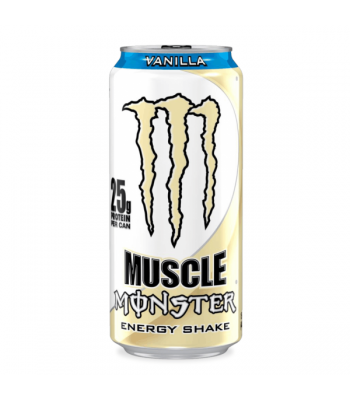 Monster Muscle Monster Vanilla 473ml  Energy & Sports Drinks Monster