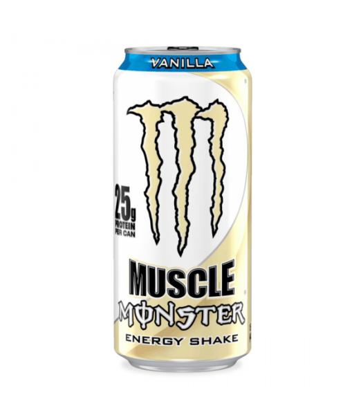 Monster Muscle Monster Vanilla 473ml  Energy & Sports Drinks Monster