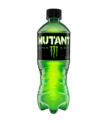 Monster Mutant Super Soda - Original Green - 20fl.oz (591ml) Bottle Energy & Sports Drinks Monster
