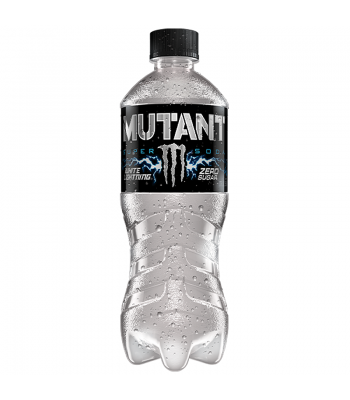 Monster Mutant Super Soda - White Lightning (Zero Sugar) - 20fl.oz (591ml) Bottle Energy & Sports Drinks Monster