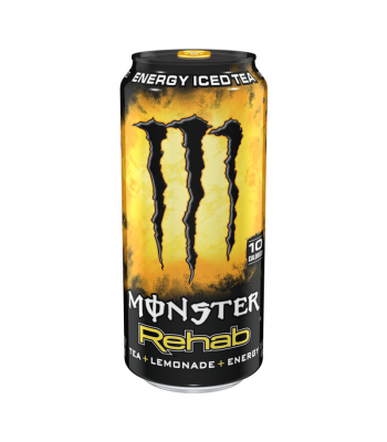 Monster Rehab Lemonade - 15.5fl.oz (458ml) Soda and Drinks Monster