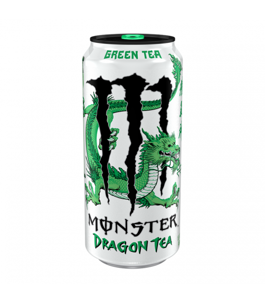 Monster Dragon Green Tea - 15.5fl.oz (458ml) Soda and Drinks Monster