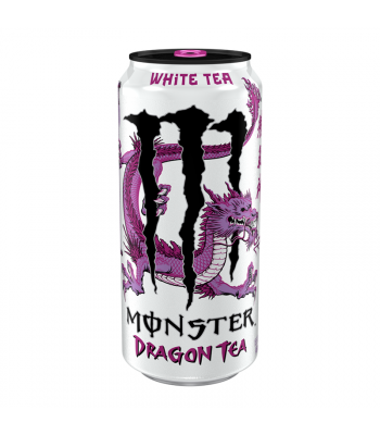 Monster Dragon White Tea - 15.5fl.oz (458ml) Soda and Drinks Monster