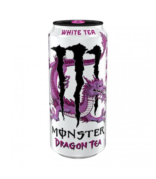 Monster Dragon White Tea - 15.5fl.oz (458ml) Soda and Drinks Monster