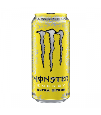 Monster Ultra Zero Citron 473ml