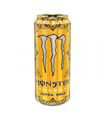 Monster Ultra Gold - 16oz (473ml) Soda and Drinks Monster