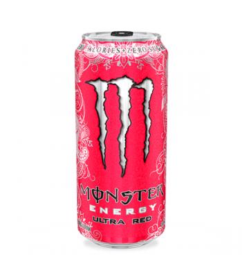 Monster Ultra Red Zero 473ml  Energy & Sports Drinks Monster