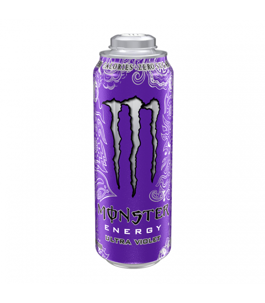 Monster Mega Ultra Violet Big Cans - 24fl.oz (710ml) Soda and Drinks Monster