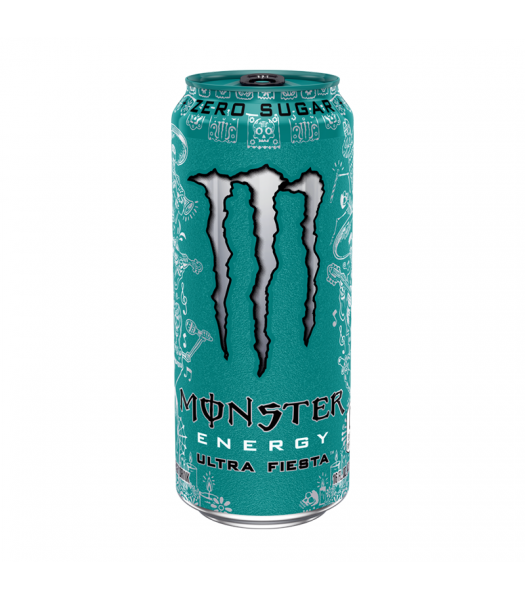 Monster Ultra Zero Fiesta - 16fl.oz (473ml) Soda and Drinks Monster