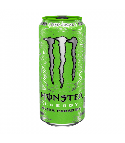 Monster Ultra Zero Paradise - 16fl.oz (473ml) Soda and Drinks Monster