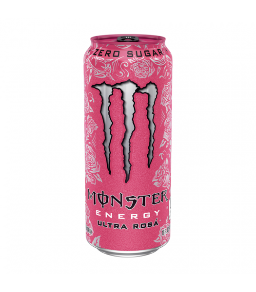Monster Ultra Zero Rosa - 16fl.oz (473ml) Soda and Drinks Monster