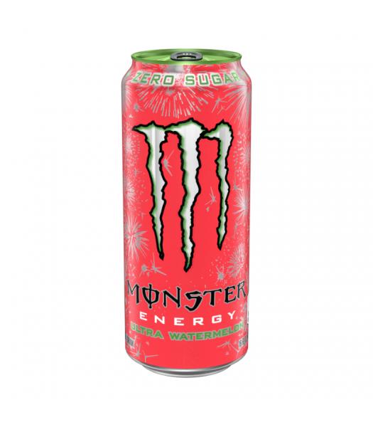 Monster Ultra Zero Watermelon - 16oz (473ml) Soda and Drinks Monster