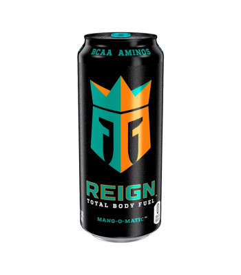 Reign Total Body Fuel Mang-O-Matic - 16oz (473ml) Soda and Drinks Monster