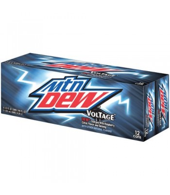 Mountain Dew Voltage 12 pack
