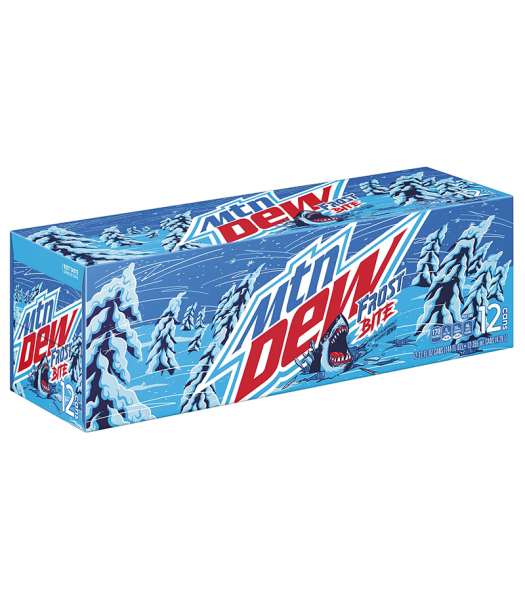 Mountain Dew Frost Bite 12fl.oz (355ml) - 12-Pack Soda and Drinks Mountain Dew