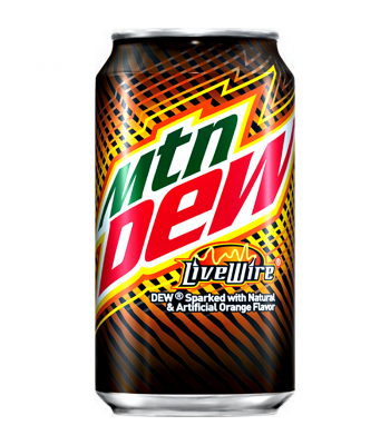 Clearance Special - Mountain Dew Live Wire 355ml ** Damaged ** Clearance Zone