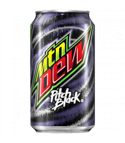 Mountain Dew Pitch Black 12oz (355ml) Can