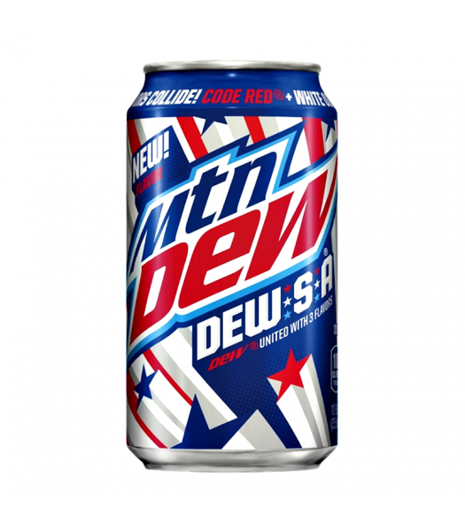 Mountain Dew-S-A Limited Edition - 12fl.oz (355ml) Soda and Drinks Mountain Dew
