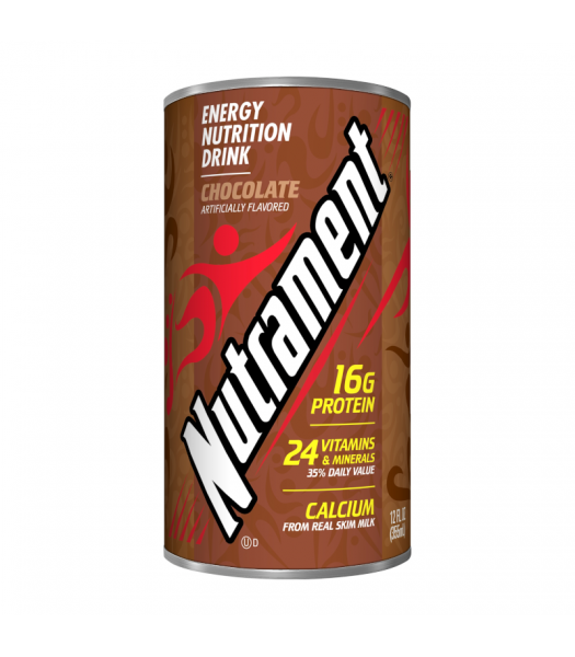 Nutrament Complete Nutrition Drink Chocolate - 12oz (355ml) Soda and Drinks