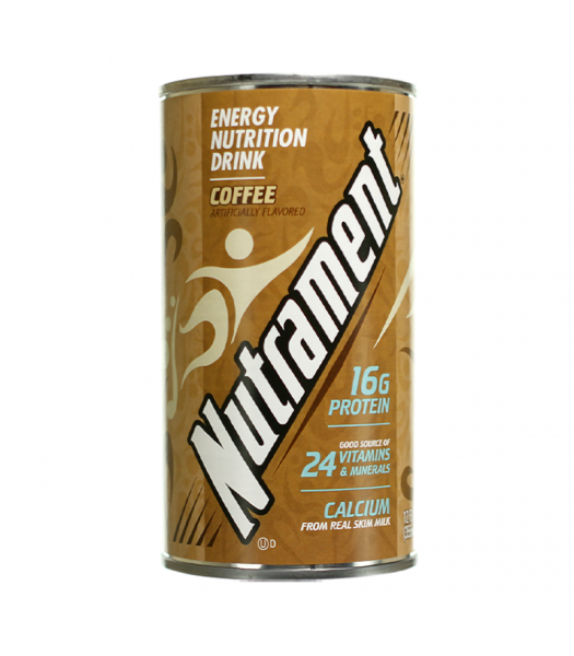 Nutrament Complete Nutrition Drink Coffee - 12oz (355ml) Soda and Drinks