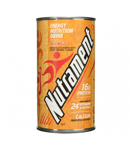 Nutrament Complete Nutrition Drink Mango - 12oz (355ml) Soda and Drinks
