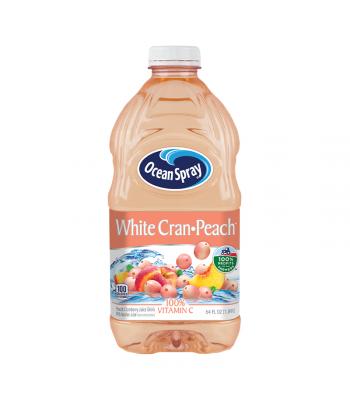 Ocean Spray White Cran-Peach Juice - 64oz (1.89L) Soda and Drinks